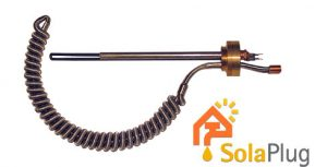 Solaplug Cylinder Retro Immersion Heater and Solar Hheat Exchanger