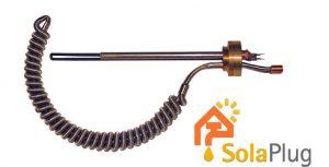 Solaplug Cylinder Retro Immersion Heater and Solar Hheat Exchanger