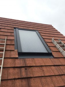 Repaired Solar Water Heating panel in Watford